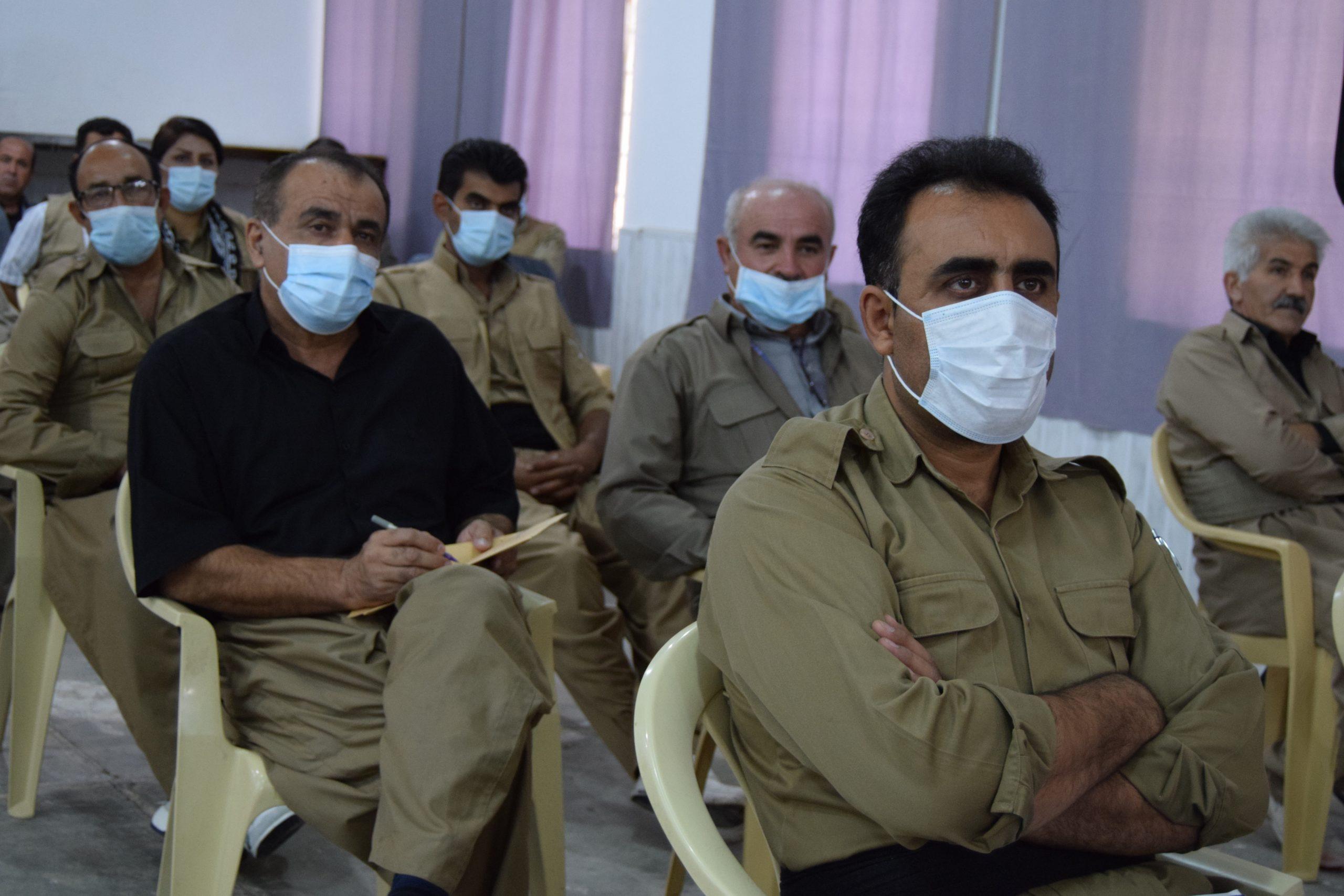 کۆبوونەوەی سیاسی - تەشکیلاتیی بۆ بەڕێز خالید عەزیزی سکرتێری گشتیی حیزبی دێموکراتی کوردستان