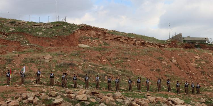 کۆتایی دەورەی ٢٤١ی فێرگەی پێگەیاندنی پێشمەرگەی حیزبی دێموکراتی کوردستان
